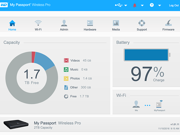 Accessory review: Western Digital My Passport Wireless Pro: Digital