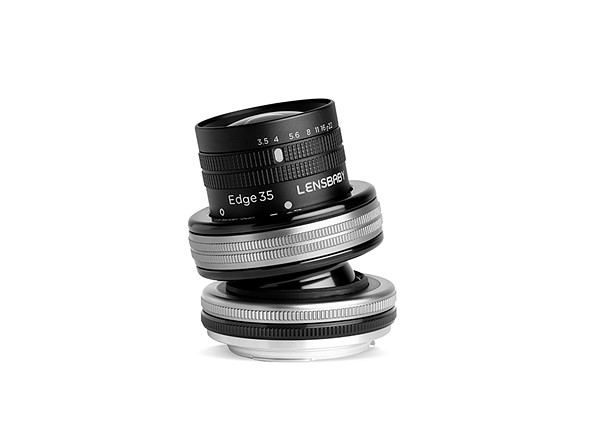 Lensbaby announces the Edge 35mm optic, a wide angle tile lens for its Optic Swap system