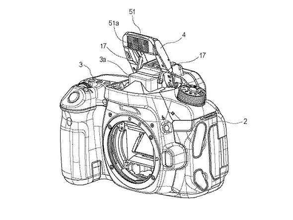 de0c8da8a26 Canon could put continuous LED lights inside pop-up flash units according  to patent application