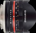 Samyang creates 8mm F2.8 fish-eye lens for Sony NEX and Samsung NX