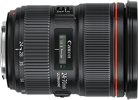 Canon renews  full-frame lenses with 24-70mm F2.8 II and stabilized wide-angle primes