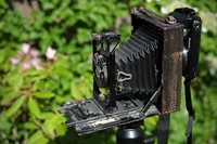 Reader showcase: Using a Sony NEX as a digital back on an antique camera