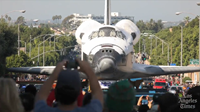 Watch time-lapse video of Shuttle Endeavour's voyage across L.A