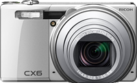 Ricoh announces CX6 CMOS compact superzoom