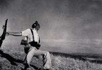 Robert Capa speaks for himself: 'The camera was far above my head'