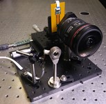 Miniature wide angle lens under development at UCSD