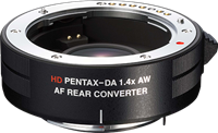 Ricoh announces HD Pentax DA AF 1.4X AW rear converter