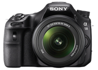 Sony announces SLT-A58 20MP mid-level DSLR-style camera