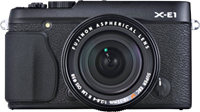 Fujifilm X-E1 preview extended