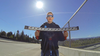 Filmmaker shoots with fifteen GoPros for a Matrix-like bullet time effect