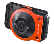 Casio develops Exilim EX-FR10 two-part action cam with wireless monitor