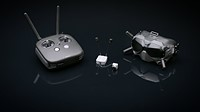 DJI shows off its Digital FPV System, a dedicated headset and remote with internal recording