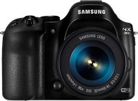 A smart camera gets smarter? Samsung NX30 first impressions review