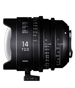Sigma announces pricing and availability of 14mm and 135mm T2 Cine Prime lenses 1