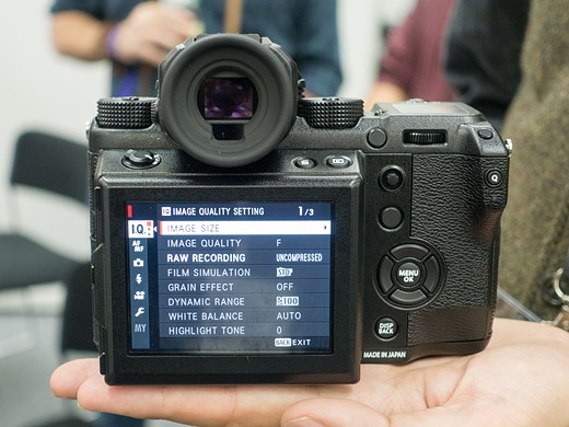 Photokina 2016: Hands-on with Fujifilm GFX 50S 8