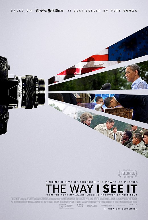 The first trailer for the Pete Souza documentary, 'The Way I See It,' has been released