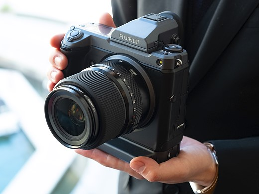 EXCLUSIVE: Hands-on with Fujifilm 100MP GFX medium-format