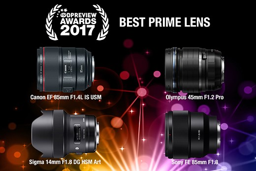 Our favorite gear, rewarded: DPReview Awards 2017 10