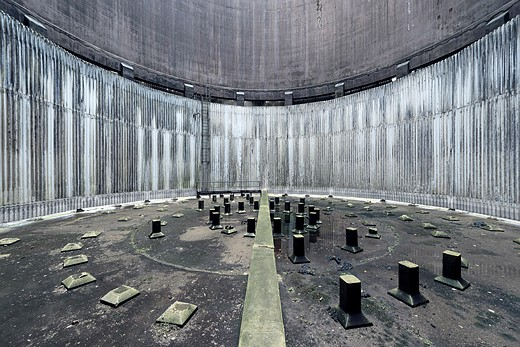 Power struggle: Hauntingly beautiful images of abandoned cooling towers 1