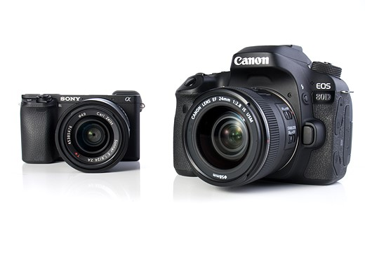 Canon EOS 80D vs Sony a6300: vying for the stills/video hybrid crown 8