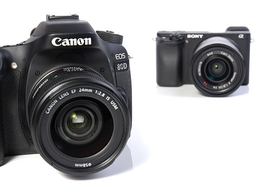 Canon EOS 80D vs Sony a6300: vying for the stills/video hybrid crown 4