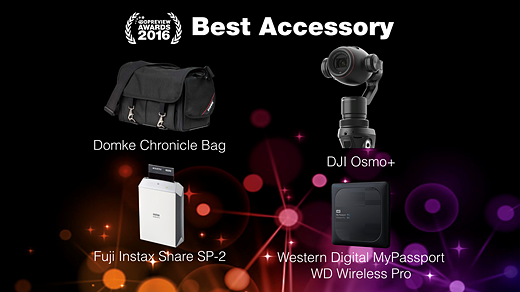 Our favorite gear, rewarded: DPReview Awards 2016 2