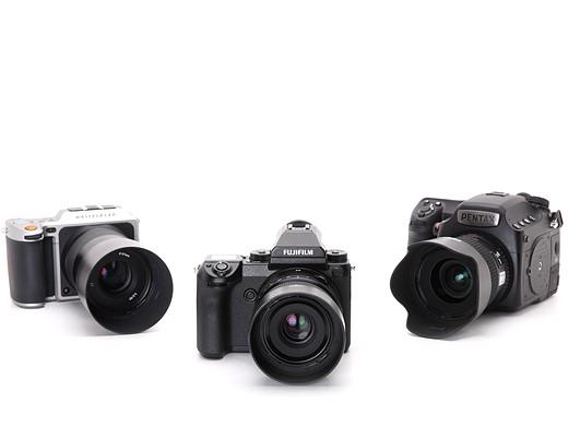 Fujifilm GFX 50S vs Pentax 645Z vs Hasselblad X1D 13