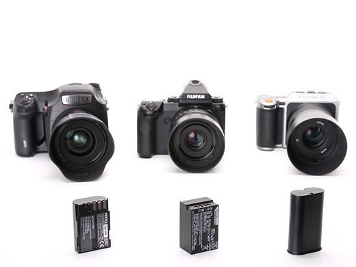Fujifilm GFX 50S vs Pentax 645Z vs Hasselblad X1D 4