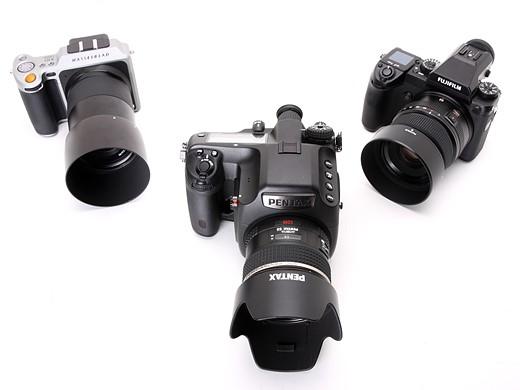 Fujifilm GFX 50S vs Pentax 645Z vs Hasselblad X1D 8