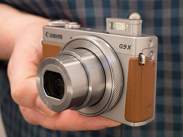 CES 2017: Hands-on with the Canon PowerShot G9 X II