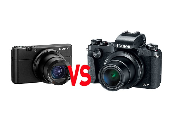 Canon G1 X Mark III vs Sony RX100 V