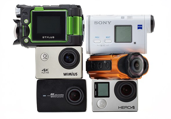 2016 Roundup: 4K action cameras 1