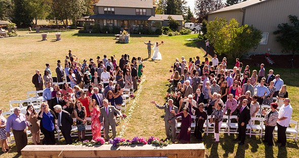 Why you should consider adding a drone to your photography for Best drone for wedding video