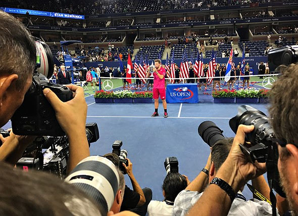 ESPN publishes iPhone 7 Plus photos from US Open 9
