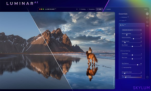 Skylum shows off new water reflections in Luminar AI's Sky AI feature