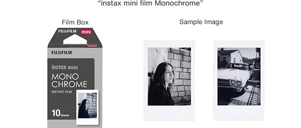 Fujifilm to introduce monochrome instax mini film 1