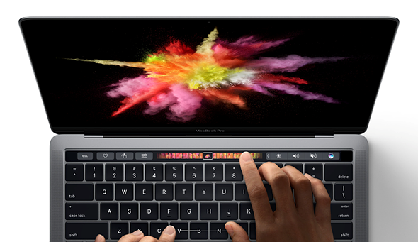 Apple revamps MacBook Pro lineup, adds 'Touch Bar' 1