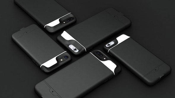 The iBlazr Case comes with 40 LEDs and a built-in battery pack 1