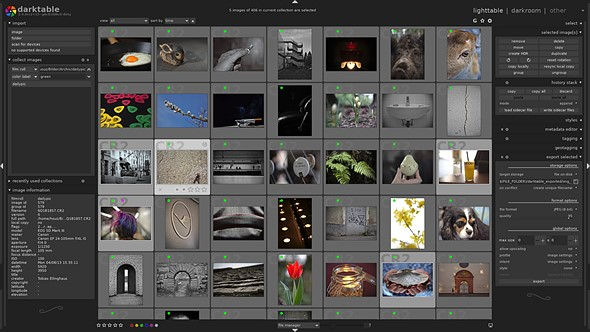 Free Lightroom alternative Darktable is now available on Windows