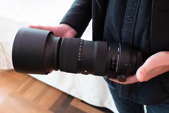 Kết quả hình ảnh cho Sigma 60-600mm F4.5-6.3 DG OS HSM Sports Lens