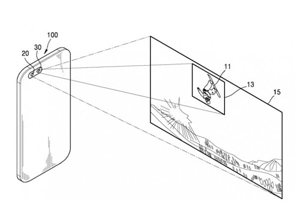 Samsung patent shows dual-camera tracking feature 1