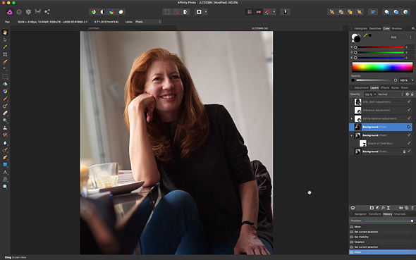 Evaluate: Affinity Picture 1.5.2 for desktop