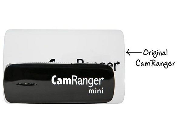 CamRanger Mini is half the size, two thirds of the price and has