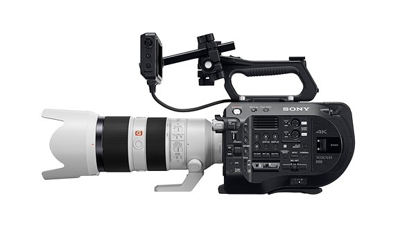 Sony announces the PXW-FS7 ll with electronic variable ND filter and new handling features 3