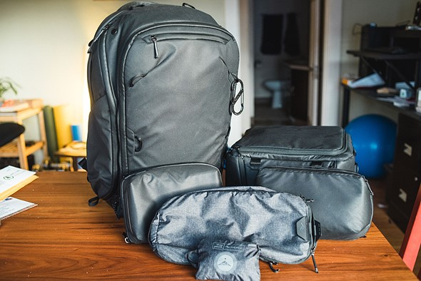 3a172359a37c Review: Peak Design Travel Backpack 45L and 'Packing Tools' are ...