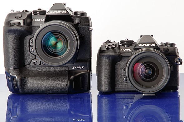 Firmware upgrade from Olympus's E-M1X to the E-M1 Mark II