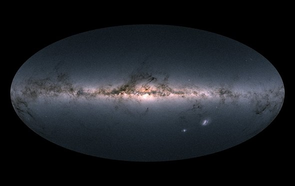 ESA unveils most detailed 3D star map ever captured