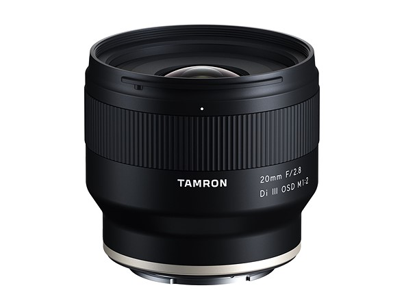 Tamron 20mm F2.8 Macro Lens for Sony E-mount ships this month for $350