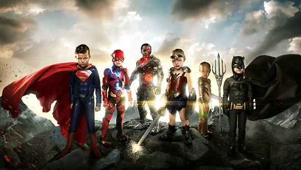 Photographer transforms disabled kids into Justice League heroes for touching photo project 1