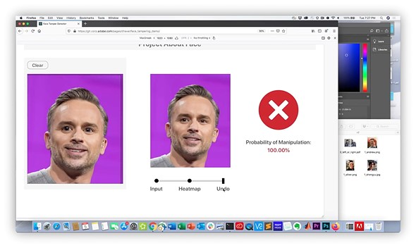 Adobe's #ProjectAboutFace can detect when portraits are altered and undo the edits